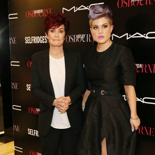 Sharon Osbourne, Kelly Osbourne in MAC Launch