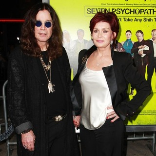 Ozzy Osbourne, Sharon Osbourne in Seven Psychopaths Los Angeles Premiere - Arrivals