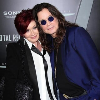 Sharon Osbourne, Ozzy Osbourne in Los Angeles Premiere of Total Recall