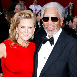 Morgan Freeman, Lori McCreary in The 82nd Annual Academy Awards (Oscars) - Arrivals