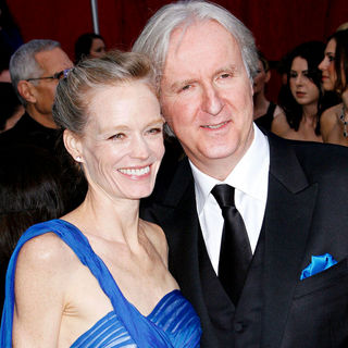James Cameron, Suzy Amis in The 82nd Annual Academy Awards (Oscars) - Arrivals