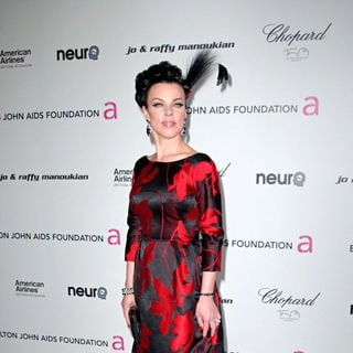 Debi Mazar in 18th Annual Elton John AIDS Foundation Academy Awards (Oscars) Viewing Party - Arrivals