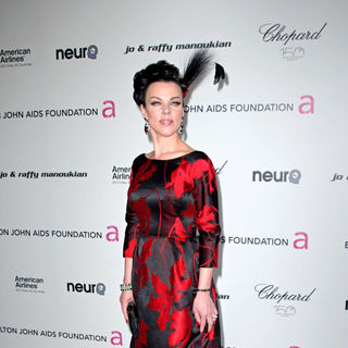 Debi Mazar in 18th Annual Elton John AIDS Foundation Academy Awards (Oscars) Viewing Party - Arrivals - oscars_elton_john_party_002_wenn2767432
