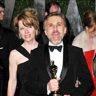 Christoph Waltz in The 82nd Annual Academy Awards (Oscars) - Vanity Fair Party - Arrivals