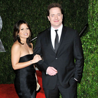 Brendan Fraser in The 82nd Annual Academy Awards (Oscars) - Vanity Fair Party - Arrivals