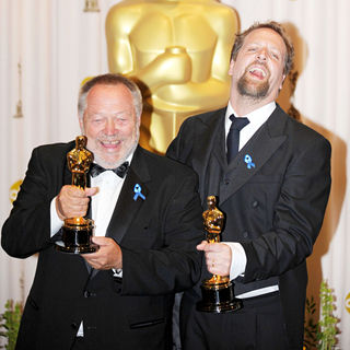 Joachim Back, Tivi Magnusson in The 82nd Annual Academy Awards (Oscars) - Press Room