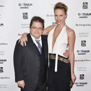 Patton Oswalt, Charlize Theron in Gotham Awards 2011 - Arrivals