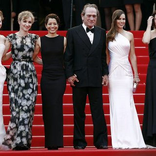 Miranda Otto, Sonja Richter, Dawn Laurel, Tommy Lee Jones, Hilary Swank, Victoria Jones in The 67th Annual Cannes Film Festival - The Homesman - Premiere Arrivals