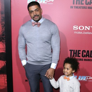 David Otunga, David Otunga Jr. in Los Angeles Premiere of The Call