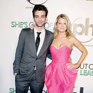 Jay Baruchel, Alice Eve in The Las Vegas Premiere of 'She's Out of My League'