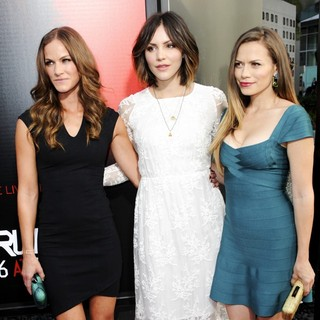 Kelly Overton, Katharine McPhee, Bethany Joy Galeotti in Premiere of HBO's True Blood Season 6 - Arrivals