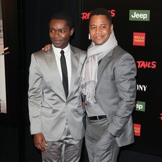 David Oyelowo, Cuba Gooding Jr. in The New York Premiere of Red Tails