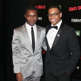 Tristan Wilds in The New York Premiere of Red Tails - oyelowo-wilds-red-tails-ny-premiere-01