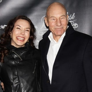 Sunny Ozell, Patrick Stewart in Opening Night of Breakfast at Tiffany's - Arrivals