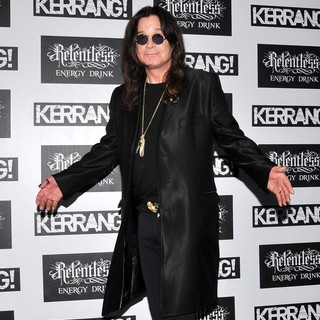 Ozzy Osbourne in Kerrang! Awards 2012 - Arrivals