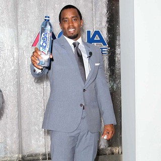 P. Diddy in Press Conference To Announce Newest Venture Water Brand AQUAhydrate
