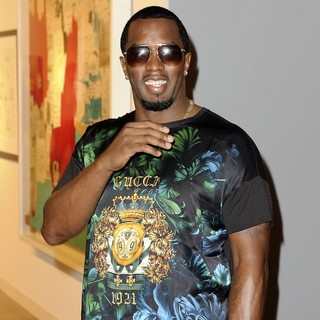 P. Diddy - Art Basel Miami Beach 2012 - VIP Preview