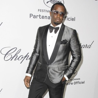 P. Diddy in Chopard Mystere Party - Arrivals - During The 65th Cannes Film Festival