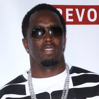 P. Diddy in P. Diddy Hosts Fight Night Afterparty