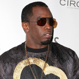 P. Diddy in P. Diddy Hosts Fight Night After-Party