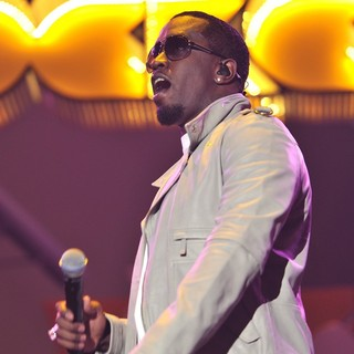 P. Diddy Performs at The Orange Rockcorps Show