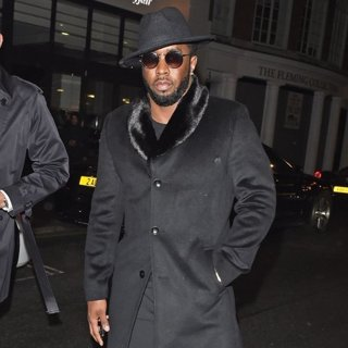 P. Diddy Seen Out and About in London