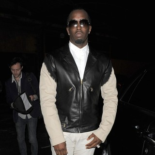 P. Diddy - Paris Fashion Week Autumn-Winter 2012 - Kanye West Fashion Show - Departures