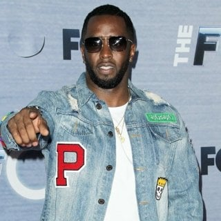 P. Diddy in The Four: Battle For Stardom Season Finale Viewing Party