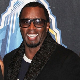 P. Diddy in WWE Superstars for Sandy Relief - Arrivals