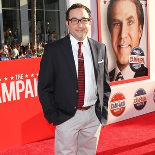 P.J. Byrne in Los Angeles Premiere of The Campaign - Arrivals