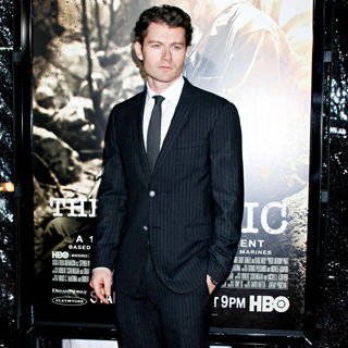 James Badge Dale in Los Angeles Premiere of HBO's new mini series 'The Pacific' - pacific_premiere_08_wenn2753391