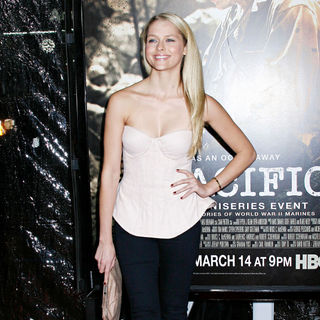 Teresa Palmer in Los Angeles Premiere of HBO's new mini series 'The Pacific'