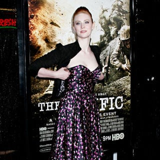 Deborah Ann Woll in Los Angeles Premiere of HBO's new mini series 'The Pacific'
