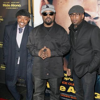 William Packer, Ice Cube, Tim Story in Universal Pictures Premiere of Ride Along