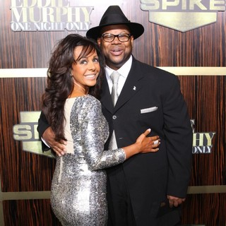 Lisa Padilla, Jimmy Jam in Spike TV's Eddie Murphy: One Night Only
