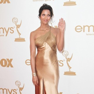 Padma Lakshmi in The 63rd Primetime Emmy Awards - Arrivals