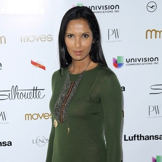 Padma Lakshmi in New York Moves Magazine's 10th Anniversary Power Women Gala