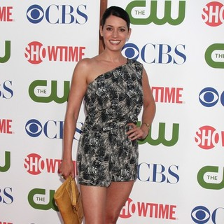 Paget Brewster in CBS, The CW and Showtime TCA Party