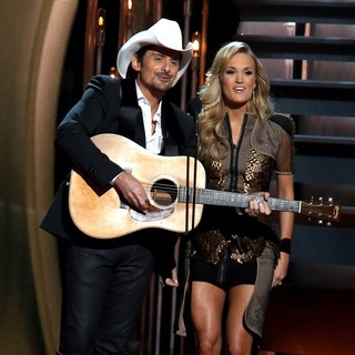 Brad Paisley, Carrie Underwood in 47th Annual CMA Awards - Show
