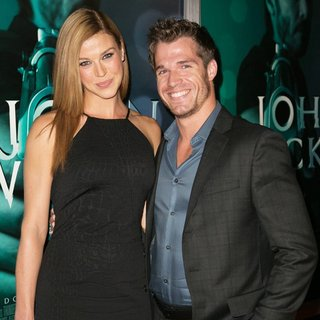 Adrianne Palicki, Jackson Spidell in Los Angeles Special Screening of John Wick