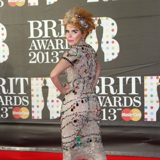 Paloma Faith in The 2013 Brit Awards - Arrivals