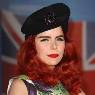 Paloma Faith in The BRIT Awards 2012 - Arrivals