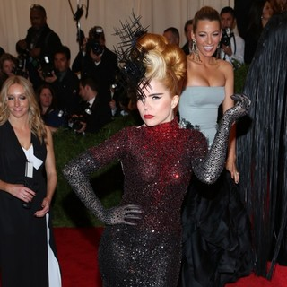 Paloma Faith in PUNK: Chaos to Couture Costume Institute Gala