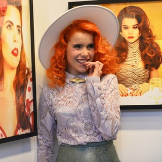 Paloma Faith in Paloma Faith Hosts A Private-View Exhibition Co-Hosted by Album Artist
