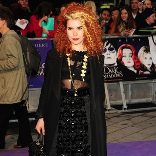 Paloma Faith in UK Premiere of Dark Shadows - Arrivals