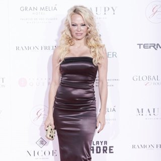 Pamela Anderson in Global Gift Foundation Gala