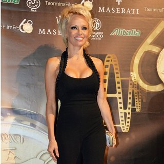 Pamela Anderson in The Taormina Film Festival