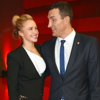 Hayden Panettiere, Wladimir Klitschko in Ein Herz fuer Kinder 2015 - After Party