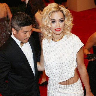 Thakoon Panichgul, Rita Ora in PUNK: Chaos to Couture Costume Institute Gala