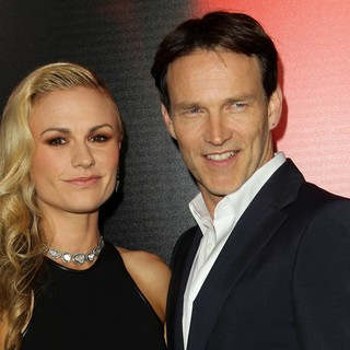 Anna Paquin, Stephen Moyer in Premiere of HBO's True Blood Season 6 - Arrivals